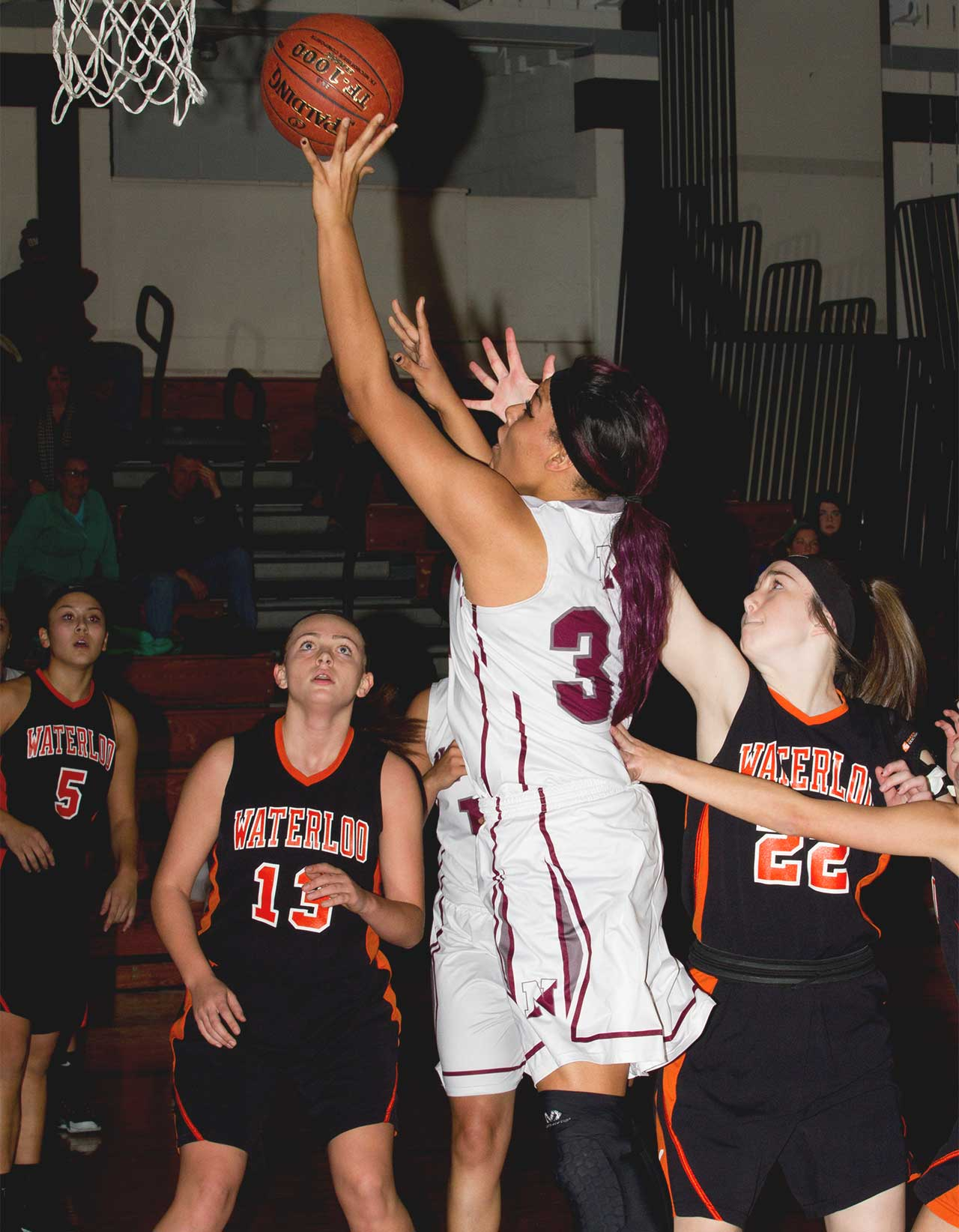 Newark's Ladonia Smith lifts Reds over Waterloo