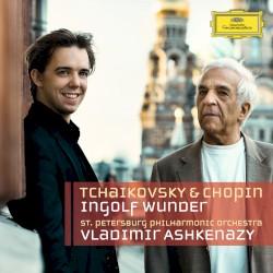 Piano Concertos by Tchaikovsky ,   Chopin ;   Ingolf Wunder ,   St. Petersburg Philharmonic Orchestra ,   Vladimir Ashkenazy